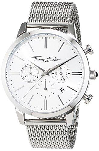 Thomas Sabo Reloj analógico de cuarzo para hombre 32002321