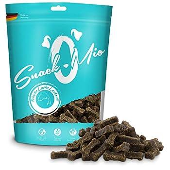 SnackOMio Friandises au Saumon Fraîches Mâcher Premium pour Chien 125 g