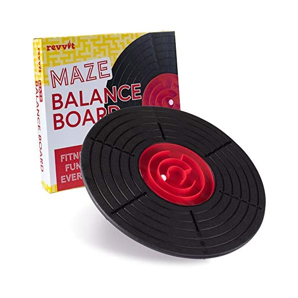 Maze Balance Board – Labyrinth Wobble Game for The Whole Family – Kids,...