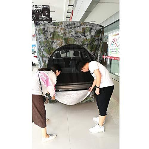 NanXi De Tienda de campaña Camión de la Cola del Coche Pesca Carpa Techo de la Tienda de Coches de Coches Tienda de campaña,Verde
