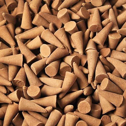 Aroma Energy Räucherkegel, indischer Duft, Verschiedene Packungsgrößen und Düfte erhältlich, Orange & Cinnamon, 25