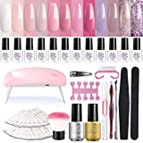 Best Gel Kits - Gel Nail Polish Starter Kit with LED Nail Review