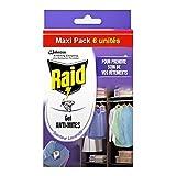 Raid - gel anti-mites senteur lavande maxi pack de 6 (une pièce)