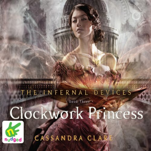Clockwork Princess audiobook cover art