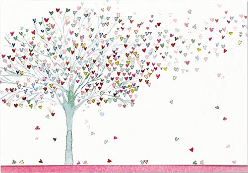 Tree of Hearts Note Cards (Stationery, Boxed Cards)