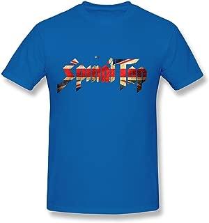 Men's Spinal Tap Band UK Flag Logo T-Shirts Black