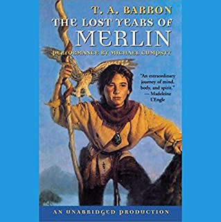 The Lost Years of Merlin cover art