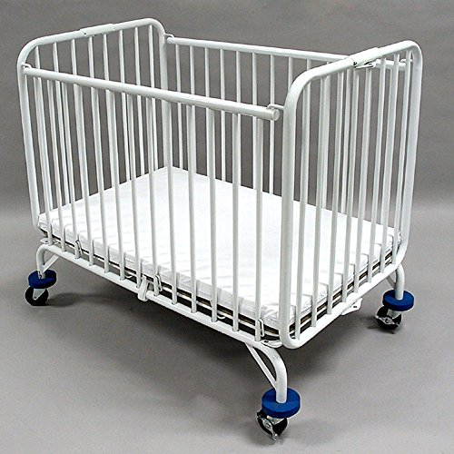 Save %18 Now! LA Baby Full Size Metal Folding Crib