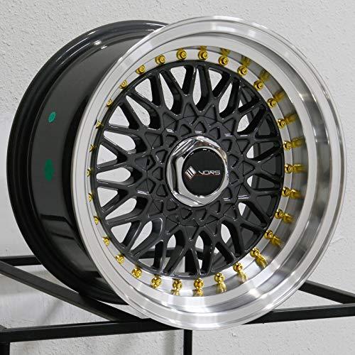 16x8 Vors VR3 4x100/4x114.3 20 Gun Metal Wheel Rim 73.1