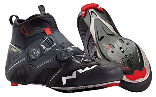Northwave Men's Extreme Winter GTX R Winter Cycling Shoe - 80141015-10 (Black - 40) by Northwave