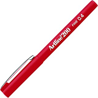 Artline 200 Technical Drawing Fineliner - Red
