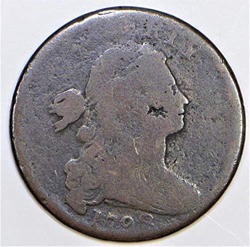 1798 P Draped Bust S-167-R-1 Cent G-