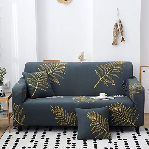 Fundas de sofá con Estampado de Flores para Sala de Estar Funda elástica elástica Fundas de sofá de Esquina seccionales A30 2 plazas
