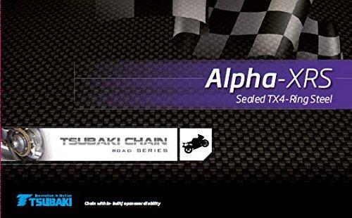 TSUBAKI ketting 520 MX Alpha 2 XRS 120 schakels