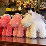immortal flower, unicorn, pe, foam, rose bear, girlfriend, birthday, valentine's day gift, immortal flower.