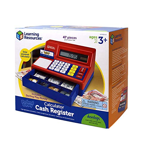 Calculatrice Caisse Enregistreuse Pretend and Play Learning Resources - 1