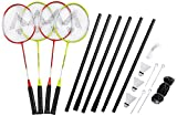 tecnotubi Opro Kit de Badminton Vitesse 200Beach, Jaune, 31/2