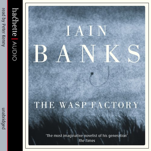 The Wasp Factory audiobook cover art