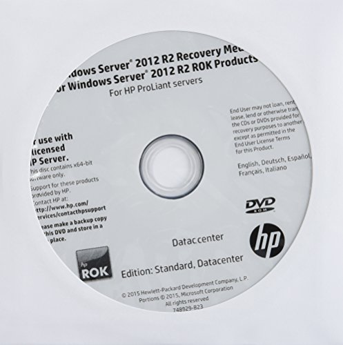 Hewlett Packard Enterprise Windows Server 2012 R2 Standard R