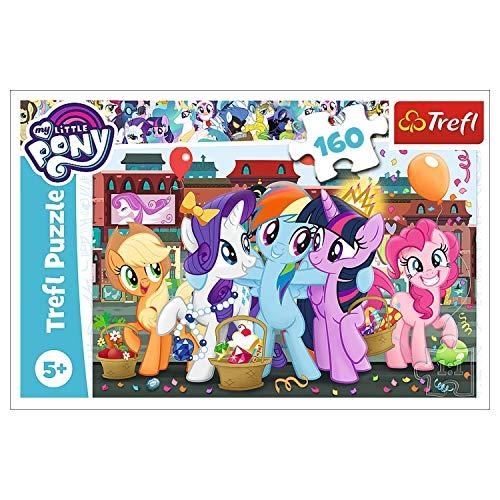 Trefl, Puzzle, Ponys beim Einkaufen, 160 Teile, My Little Pony, für Kinder ab 6 Jahren