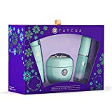 Tatcha Treasures for Poreless Skin Set: Hydrating and Cleansing 3 Piece Set Including The Water Cream, Satin Skin Mist, and The Deep Cleanse
