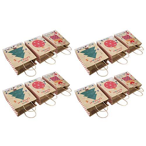 Demeras Presenta la bolsa de embalaje, bolsas de papel de día festivo encantador personalizado para niños cumpleaños