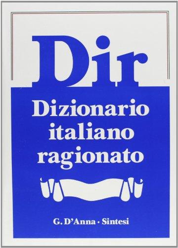 Dir. Dizionario italiano ragionato