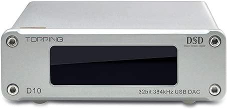 Topping D10 Mini USB DAC CSS XMOS xu208 es9018k2m opa2134 Decoder Audio Amplifier Silver
