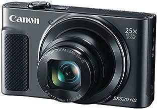 CANON 1072C001 20.2-Megapixel PowerShot(R) SX620 Digital Camera (Black)