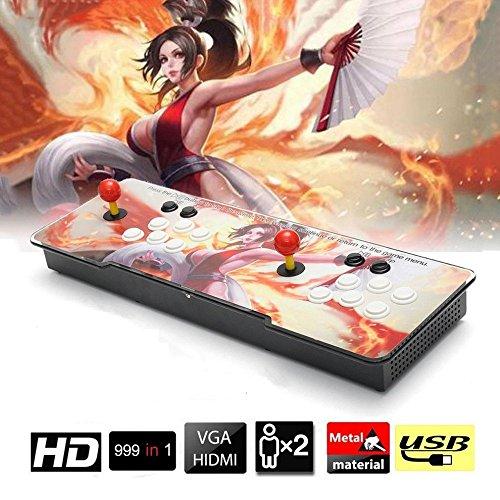 XIN-Dynasty Real Pandora's Box 5 2 giocatori Joystick Arcade Console con 999 giochi arcade, 1280 * 720 Full HD, supporto completo PS3