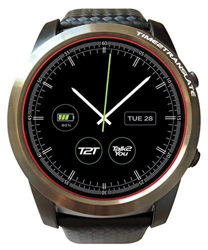 Time2Translate Executive Smartwatch Translator, IBM Watson AI Technology, 2-Way Voice & Text Language Translation, 27 Langauges, Real-Time Translation, SIM Card Operated