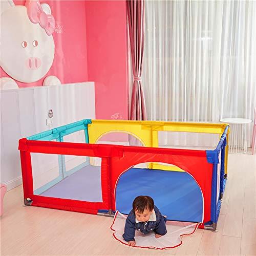 Color 150x190x70cm Parques de juegos- Grande Juego De Ni/ños con Puerta Parque Infantil De Beb/é De Interior Al Aire Libre Zona De Juegos para Beb/és