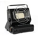 Dual Portable Outdoor Gases Heaters Portable Outdoor Heaters Card Type Gases Heaters Camping Fishing Tent Car Mounted Heaters Double Intake Outdoor Heaters