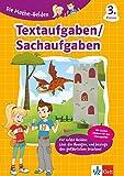 Klett Die Mathe-Helden Textaufgaben 3. Klasse: Mathematik Grundschule (mit Stickern)