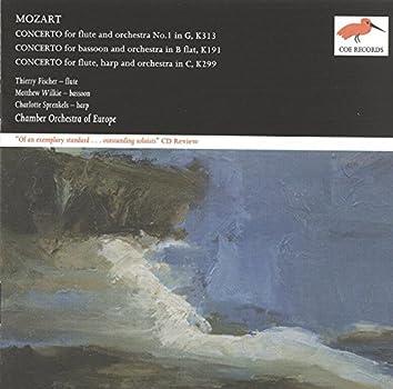 Mozart: Flute Concerto No.1; Bassoon Concerto; Concerto for Flute & Harp