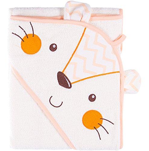 Be Mammy Kinder Baby Decke Kuschlige Babydecke Kuschel Decke Tagesdecke BEEK0025(Pfirsich/Waschbär)