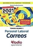 Personal Laboral Correos. Temario. Volumen 2: Sociedad Estatal Correos y Telegrafos