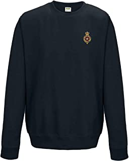 Military Online French Foreign Legio L/égion /Étrang/ère Embroidered Logo Heavyweight Sweatshirt by