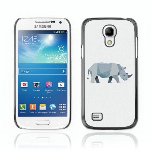 CelebrityCase Polycarbonate Hard Back Case Cover for Samsung Galaxy S4 MINI ( Anbry Banana )