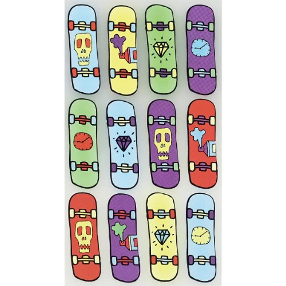 Sticko Scrapbooking Stickers, Cool Skateboards