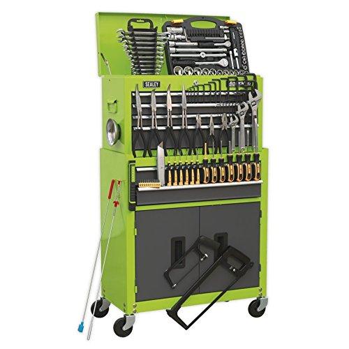 SEALEY Werkzeugkiste ap2200combohv & Werkzeugschrank Kombination 6Schublade mit Kugellager...