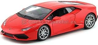 Bburago 2014 Lamborghini Huracan LP610-4 Rojo 1:18 11038