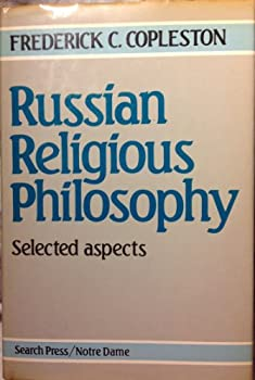 Russian Religious Philosophy: Selected Aspects 0855326301 Book Cover