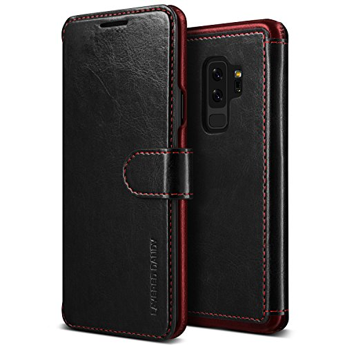 VRS Design Galaxy S9 Plus Leather Credit Card Slot Holder