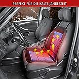 Walser 16591 Beheizbare Sitzauflage Sitzheizung Warm UP mit Thermostat schwarz blau - 2