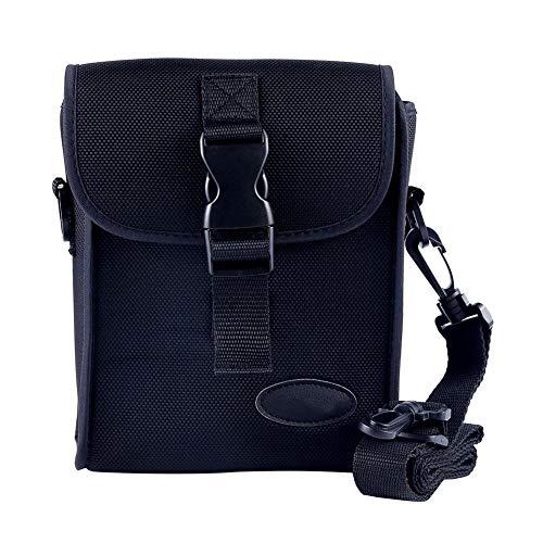 Yves25Tate Fernglas Fall, Universal-Tasche Für Ferngläser, Elegante Stabile, Oxford, Verstellbare Laschen, Für 42 Mm Fernglas, Schwarz