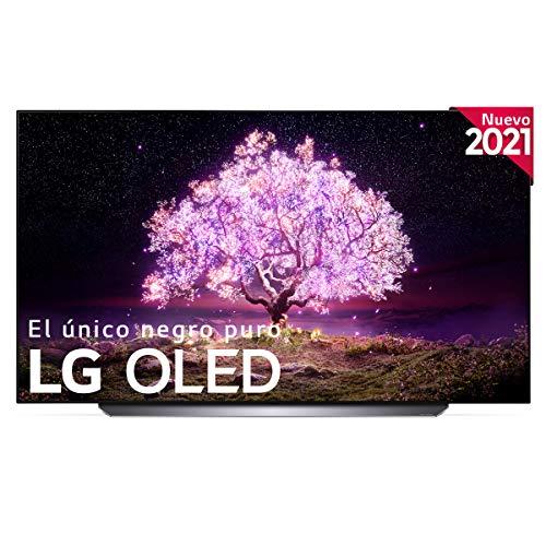 LG OLED OLED65C1-ALEXA 2021-Smart TV 4K UHD 164 cm (65') con Inteligencia Artificial, Procesador Inteligente α9 Gen4, Deep Learning, 100% HDR, Dolby Atmos, HDMI 2.1, USB 2.0, Bluetooth 5.0, WiFi