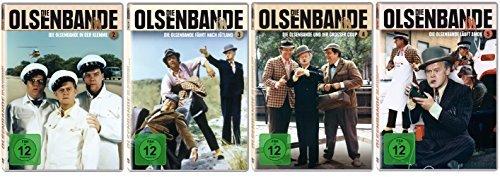 Die Olsenbande (HD-Remastered) - Box 2 - 5 im Set - Deutsche Originalware [4 DVDs]