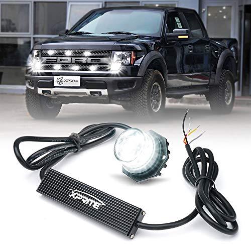 Xprite LED Hideaway Strobe Lights Emergency Hazard Warning
