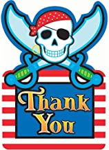 Pirate Party Thank You Cards, 3-7/8 x 5-5/8